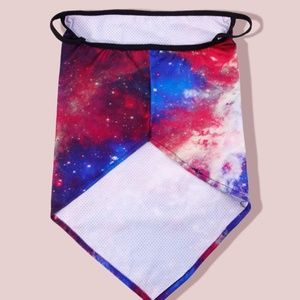 face mask Accessories - Tie Dye Galaxy Mask Gaiter Scarf w/ Ear Loops ✨